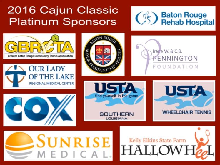 Cajun Classic 2016 Platinum Sponsors collage
