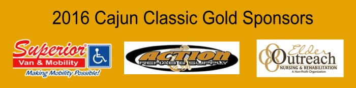 Cajun Classic 2016 Sponsors Gold collage